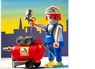 Playmobil - 3697 - Spray Painter