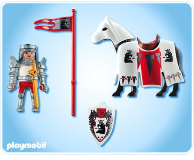 Playmobil 3699 - Sir Christopher - Back