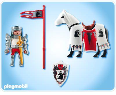 Playmobil 3699 - Sir Christopher - Back