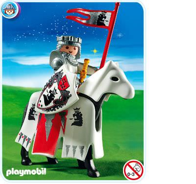 Playmobil set 3699 sir christopher klickypedia for Playmobil caballeros