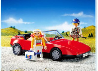 Playmobil - 3708 - Red Sportscar