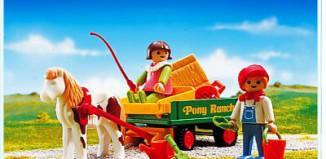 Playmobil - 3713 - Pony Wagon