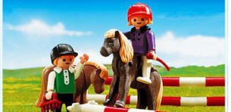 Playmobil - 3714 - Children And Ponies