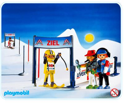 playmobil 3717 ski racers - Playmobil Ski