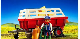 Playmobil - 3719 - Hay Wagon