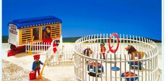 Playmobil - 3727 - Lion Tamer & Lions