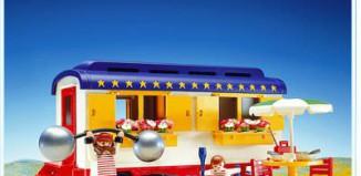 Playmobil - 3728-esp - Strongman's Trailer