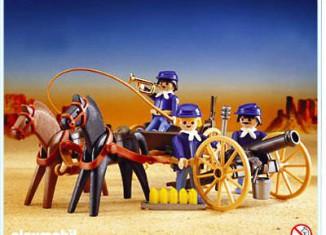 Playmobil - 3729 - U.S. Artillerie