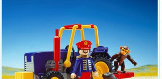 Playmobil - 3734 - Circus Tractor