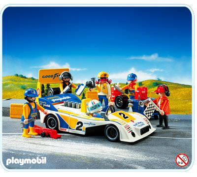 Playmobil Race Car