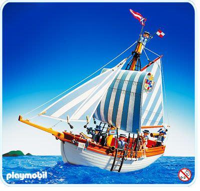 Playmobil set 3740 schooner klickypedia - Bateau corsaire playmobil ...