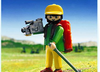 Playmobil - 3744 - Hiker With Camcorder
