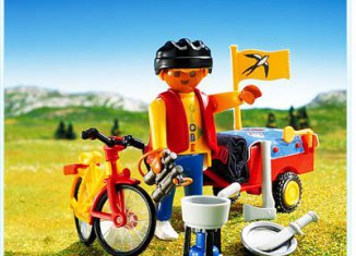Playmobil - 3746 - Cross-Country Cyclist