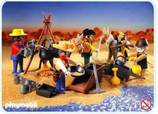 Playmobil - 3747 - Gold washers