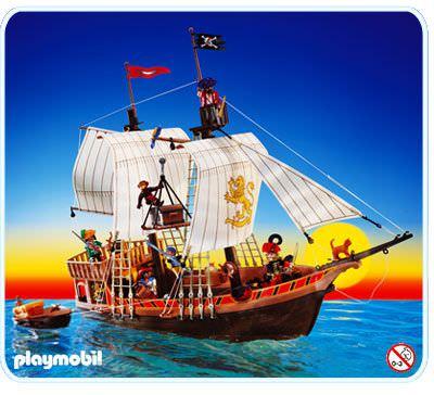 Playmobil set 3750v2 pirate ship klickypedia - Playmobil bateau corsaire ...