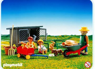 Playmobil - 3751 - Rabbit Hutch