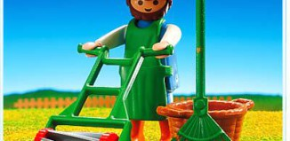 Playmobil - 3752 - Gardener/Lawnmower