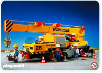 Playmobil - 3761 - Mobile Crane Truck