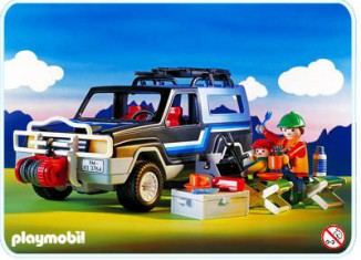 Playmobil - 3764 - Pick Up 4X4