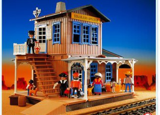 Playmobil - 3770 - Estación Colorado Springs