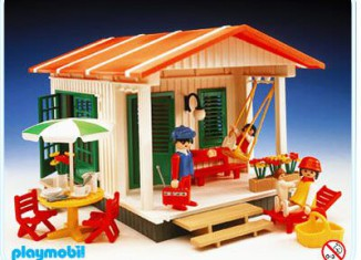 Playmobil - 3771 - Vacation Cottage