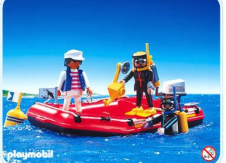 Playmobil - 3772 - Sport Divers And Raft