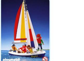 Playmobil - 3774 - Family sailboat