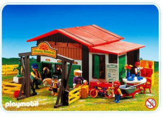 Playmobil - 3775 - Pony Ranch