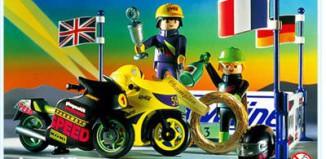 Playmobil - 3779 - Victory Racing Motorcycles