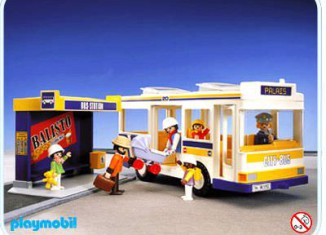 Playmobil - 3782 - City Bus And Shelter