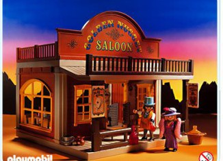 Playmobil - 3787 - Golden Nugget Saloon