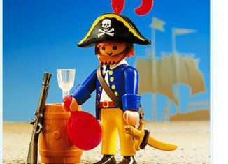 Playmobil - 3791 - Pirate with barrel
