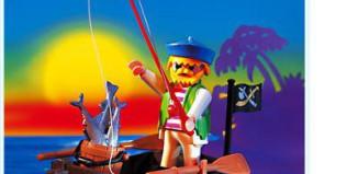 Playmobil - 3792 - pirate / rowboat