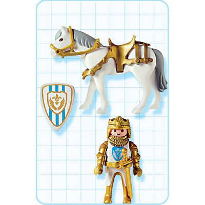 Playmobil 3800 - Sir Christopher - Back