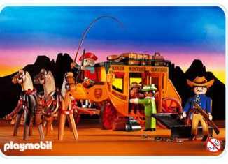 Playmobil - 3803 - Western Express Stage Coach