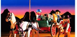 Playmobil - 3804 - Western Buckboard