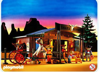 Playmobil - 3805 - Snake River Ranch