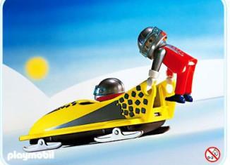 Playmobil - 3807 - Yellow 2-Man Bob