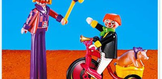 Playmobil - 3808 - Clown Team