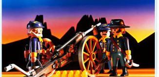 Playmobil - 3812 - US Artillery