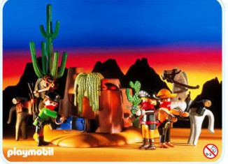 Playmobil - 3815 - Outlaws Hideaway