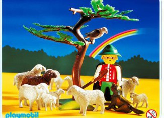 Playmobil - 3824 - Shepherd & Sheep