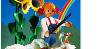 Playmobil - 3825 - Farm Girl & Geese