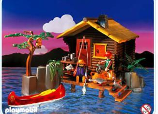 Playmobil - 3826 - Sportsman's Cabin