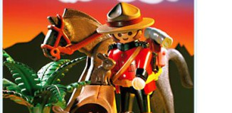 Playmobil - 3827 - Canadian Mounty