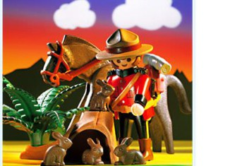 Playmobil - 3827 - Kanadischer Mounty
