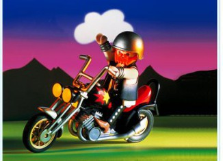 Playmobil - 3831 - Chopper And Rider