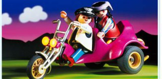 Playmobil - 3832 - Three-Wheeled Roadster And 2 Riders