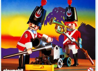 Playmobil - 3857 - Redcoats watch post