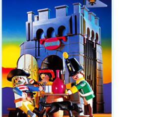 Playmobil - 3859-esp - Pirate's Prison Tower